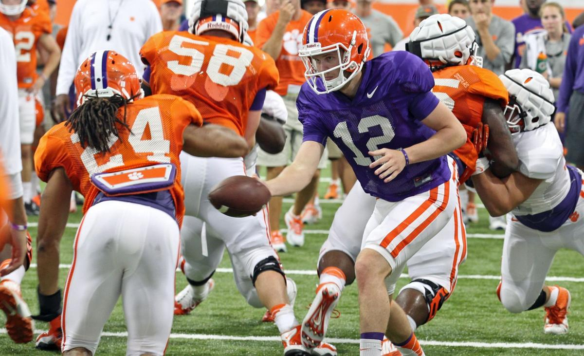 Clemson coaches want to see strong finish to spring ball
