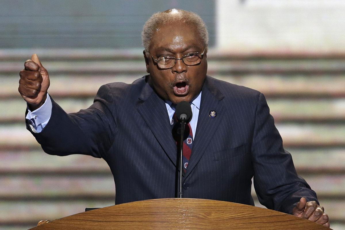 Clyburn's speech reflects his stature