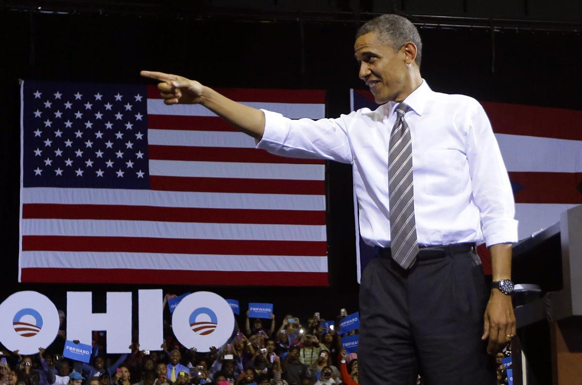 Romney, Obama descend on Ohio