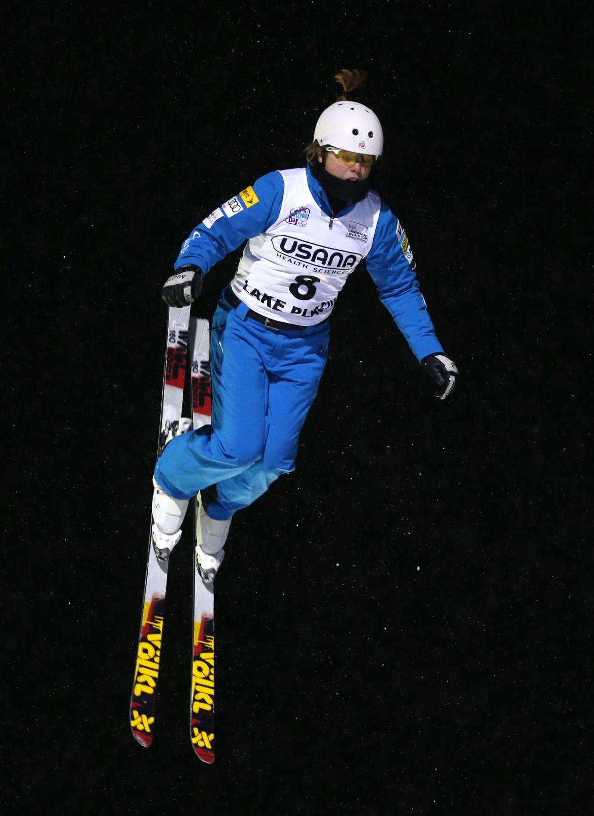 Cook, Caldwell earn spots on Olympic team in aerials