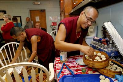 Tibetan monks come to town as part of national tour to share their culture