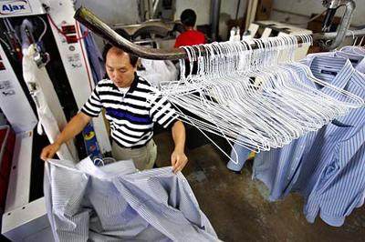 Hanger costs belt dry cleaners