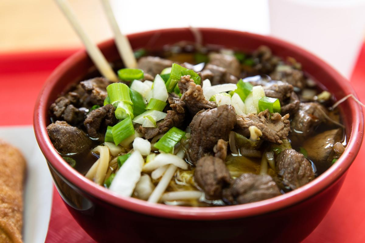 Mamasan's Taiwanese Beef Noodle Soup at Egg Roll Chen
