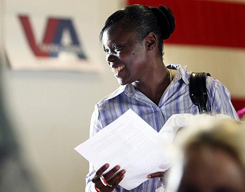 Veterans look for local jobs