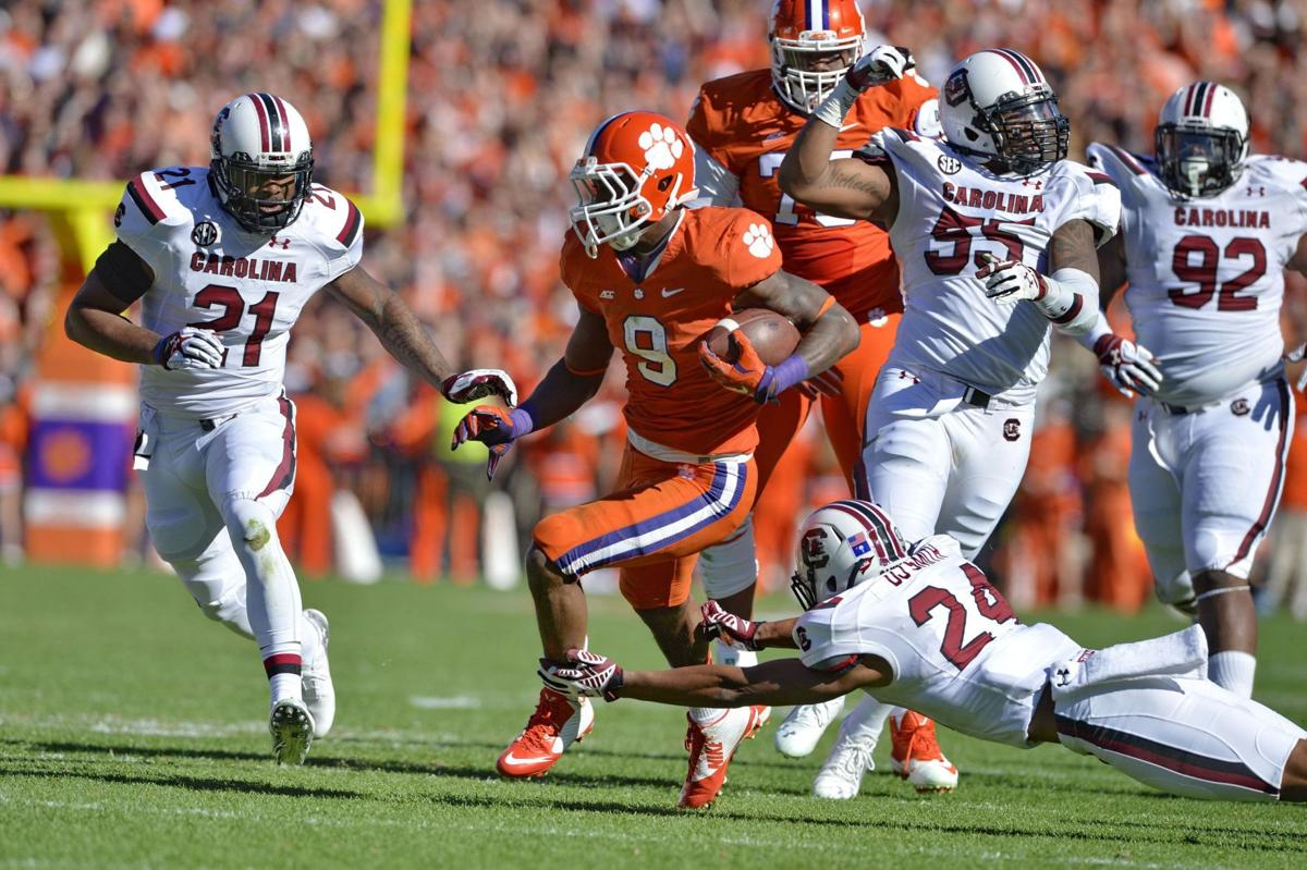 Watch lists tab Clemson, USC players for college football awards