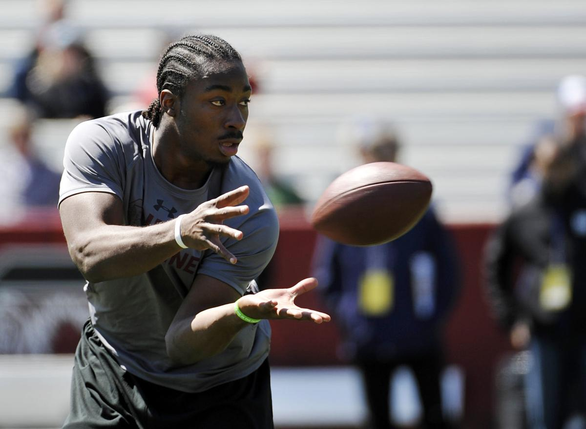 Lattimore stays hopeful Five months after knee injury, former South Carolina football star is ahead of schedule on his rehabilitation