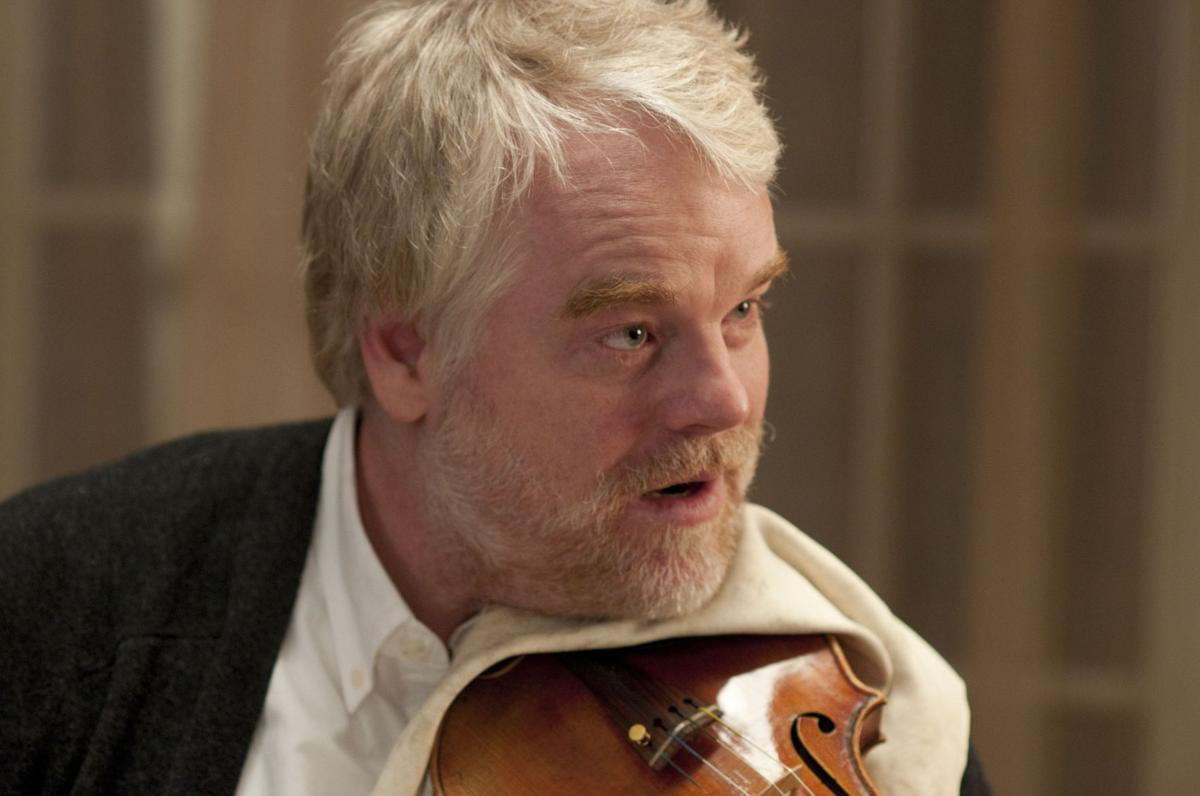 Actors make sweet music together in 'A Late Quartet'