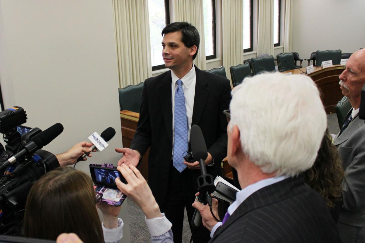 Sen. Shane Massey elected by Republicans as new Senate Majority Leader