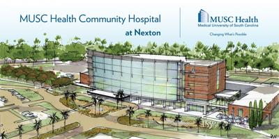 MUSC Health Nexton Sign (copy) (copy)