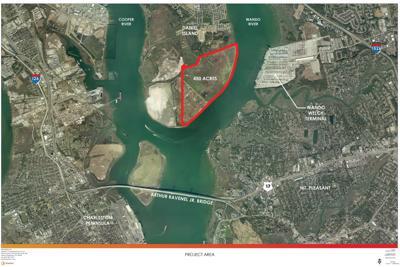 Proposed park location Sanford Daniel Island