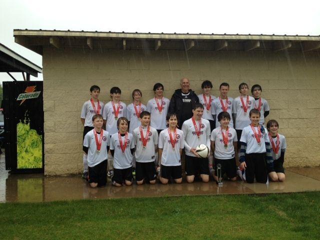 Mt. Pleasant Ajax U14 boys team wins championship