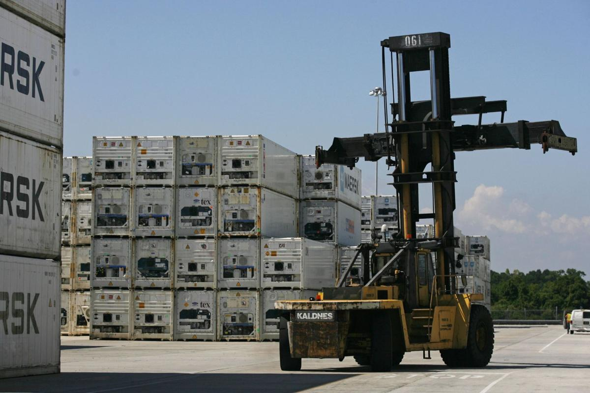 Chilling: Cold-storage shipments heat up at port