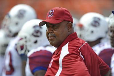 S.C. State head coach Buddy Pough