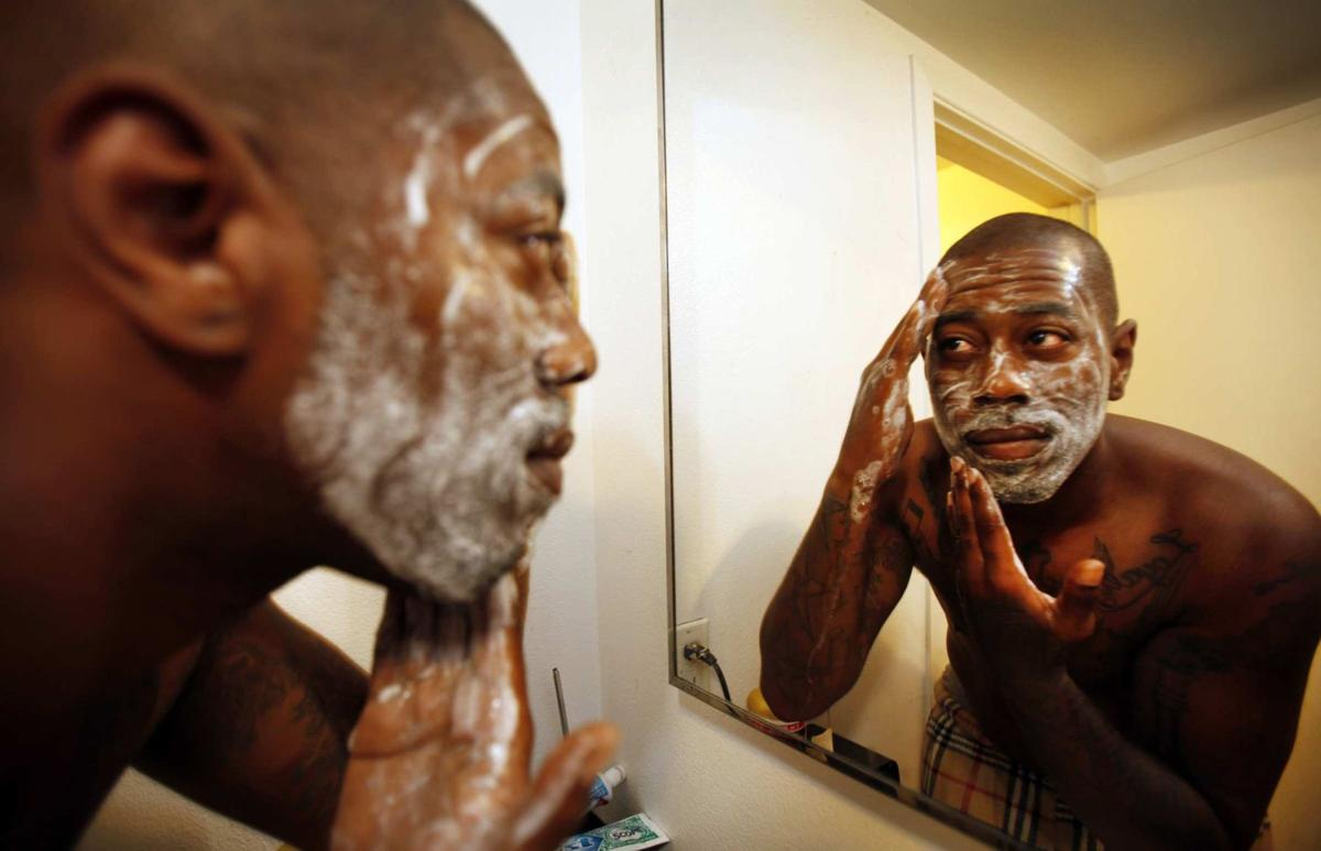 Men's cosmetics booming Skin-care products' packaging avoids look of 'makeup'