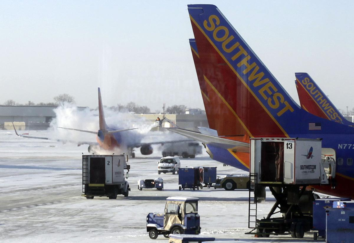 Winter flight cancellations were a record