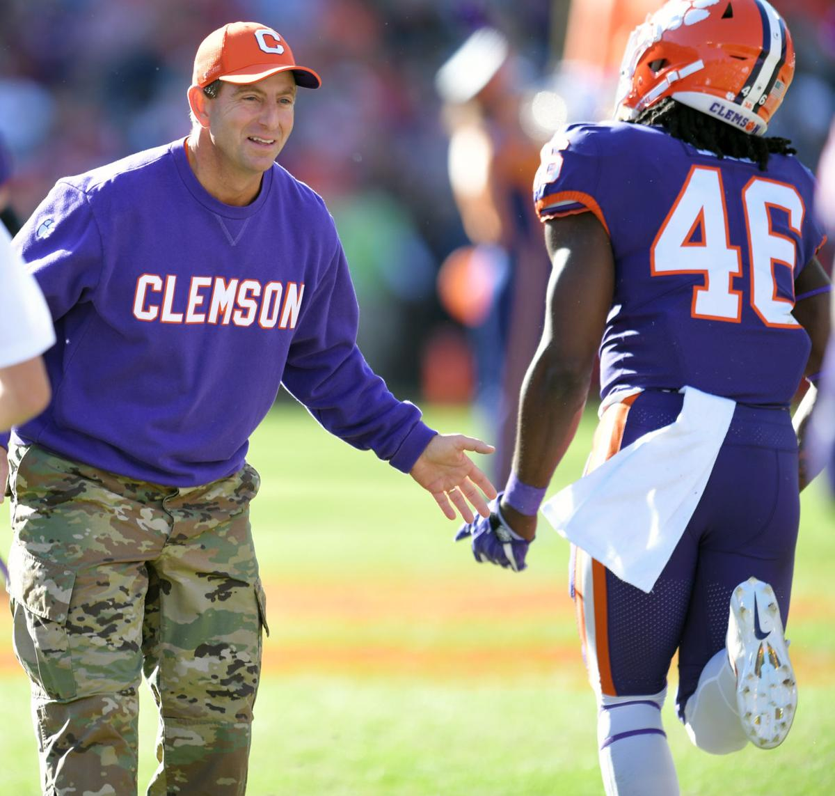 Mission Accomplished For Clemson Against Wofford On Military