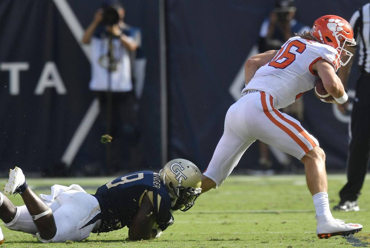 7 takeaways from No  3 Clemson's 49-21 win at Georgia Tech