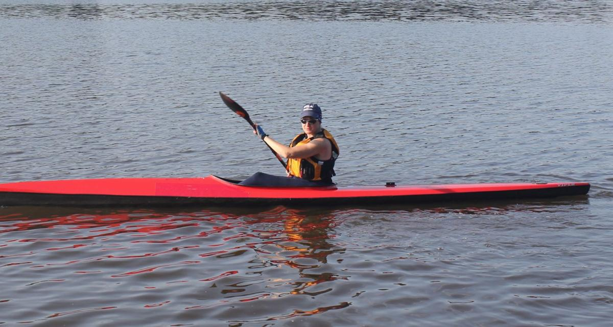 Disabled paddler chasing an Olympic-sized dream
