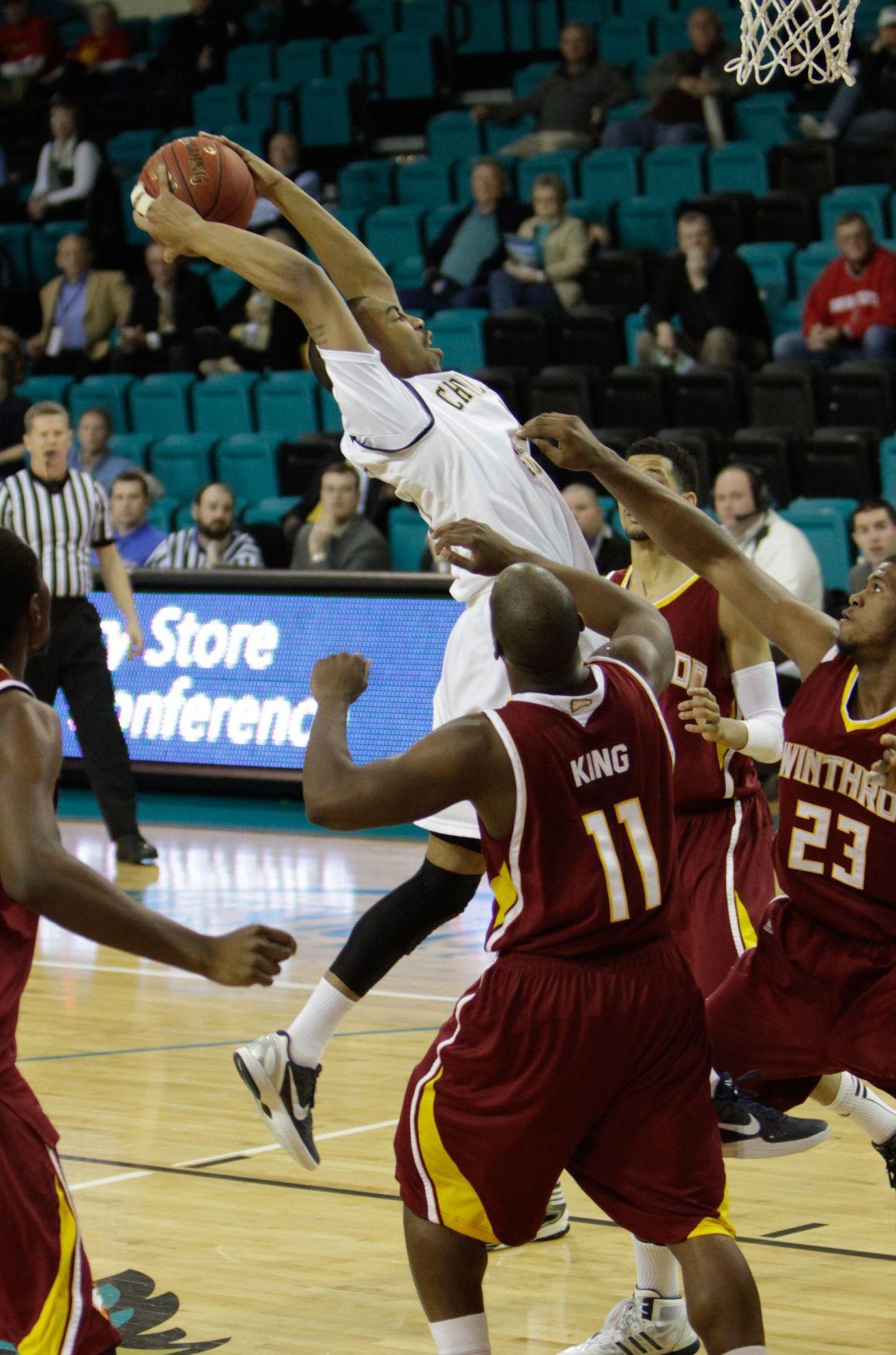 Charleston Southern tops Winthrop to make Big South semifinals