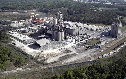 Study points to cement plants