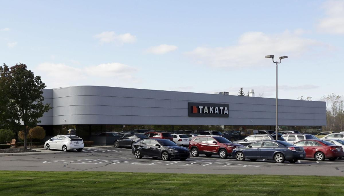 US to fine air bag maker Takata $14,000 per day