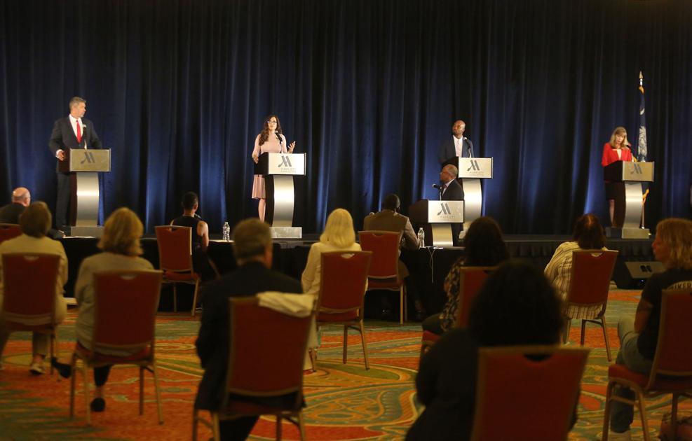SC GOP congressional debate draws candidates into firing match