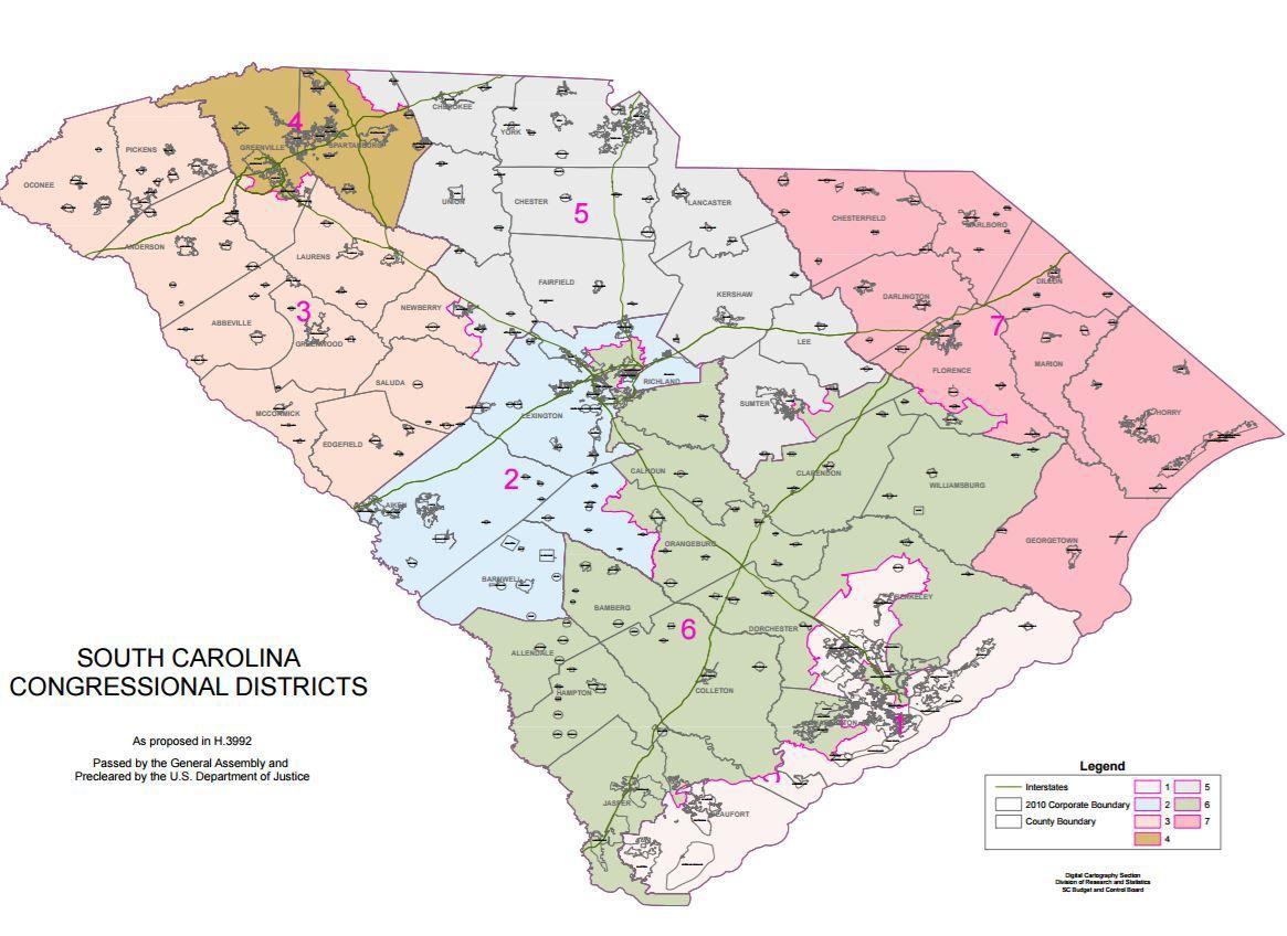 south carolina congressional districts copy