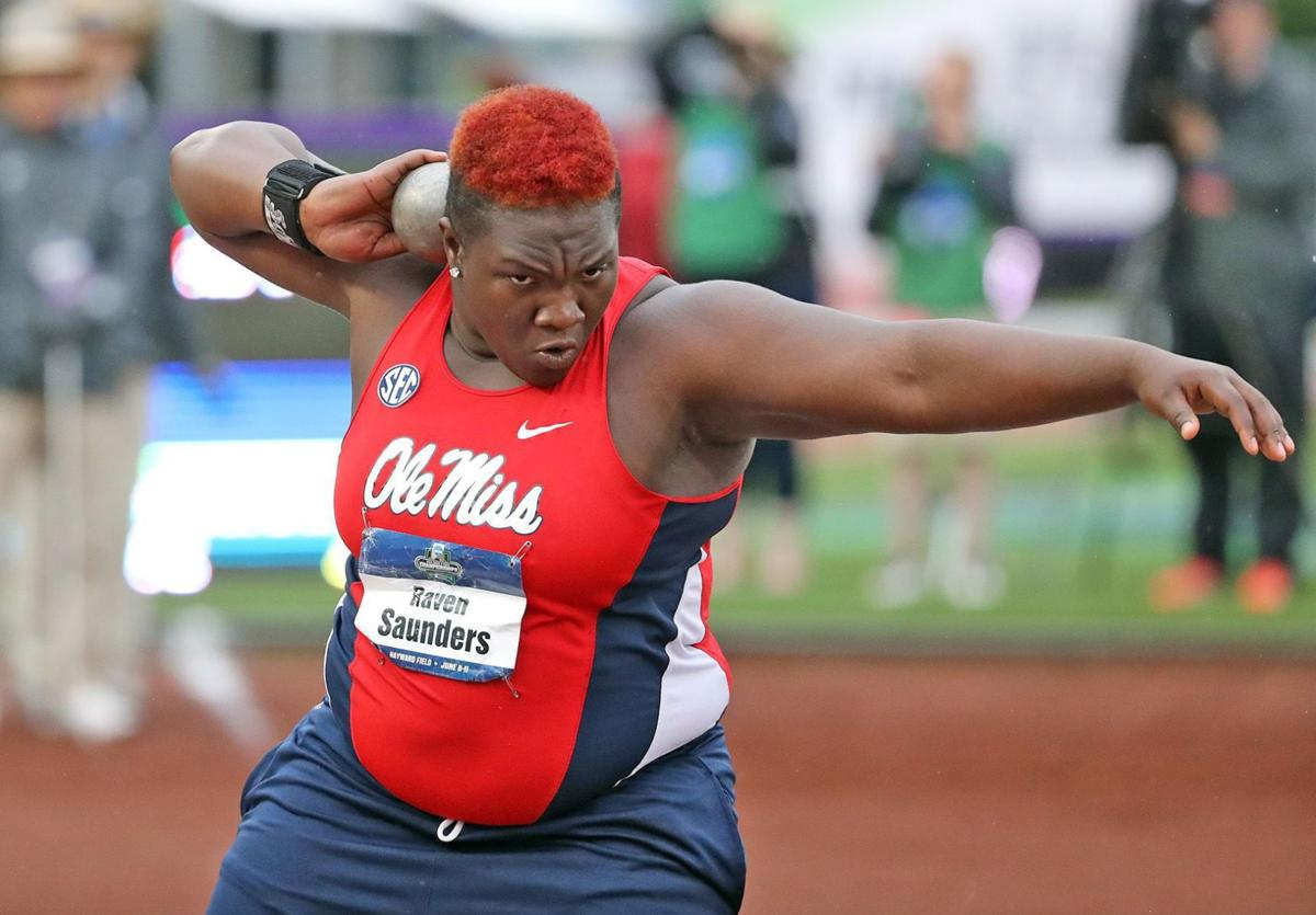 Fundraisers for Olympian Raven Saunders on tap