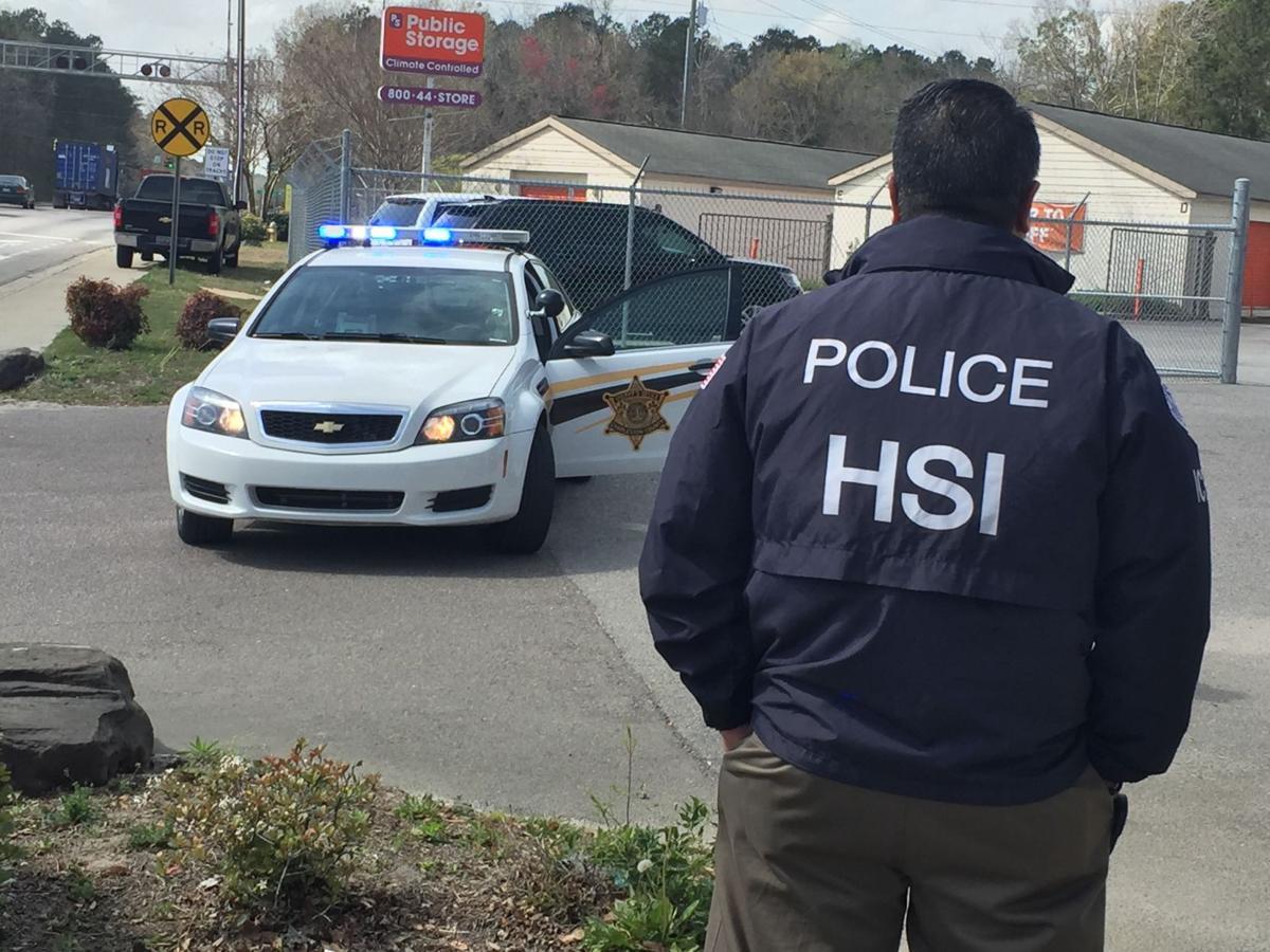 DHS raid in Ladson