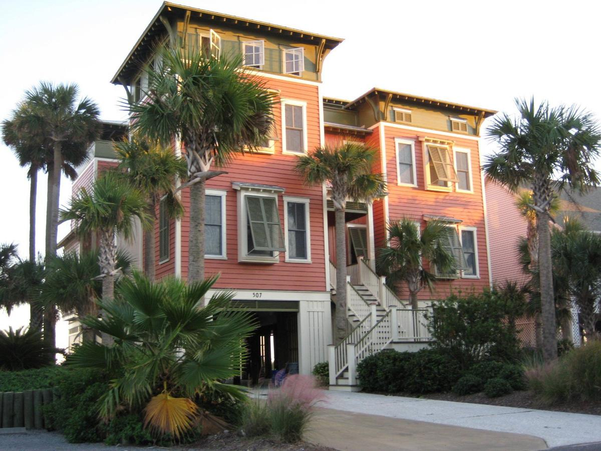 507 E. Arctic Ave. — Large oceanside home on Folly Beach makes for alluring vacation rental