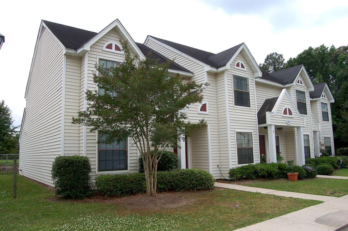 Mulberry Place — Two-level apartment complex west of the Ashley matches moderate price, roomy perks