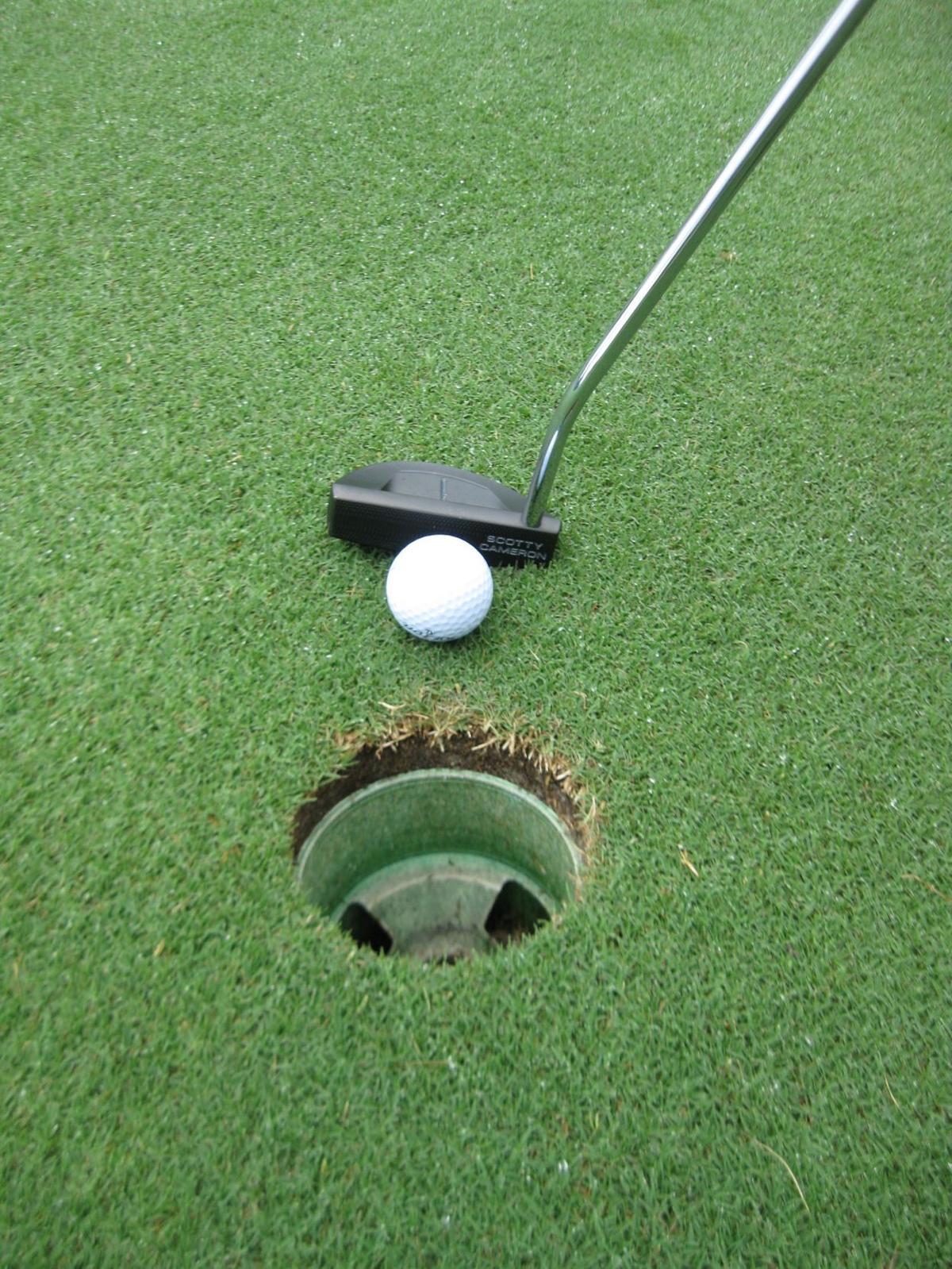 Golf calendar and aces