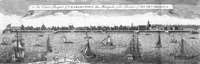 """The """"Walled City"""" of Colonial Charles Town"""