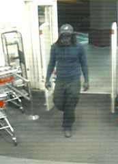 Police seek armed robber