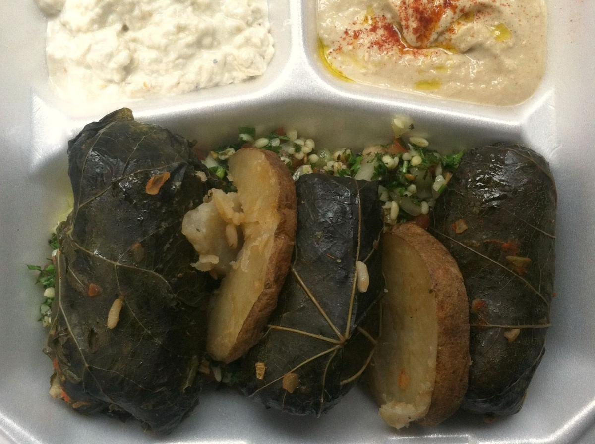 Found: Top-notch stuffed grape leaves