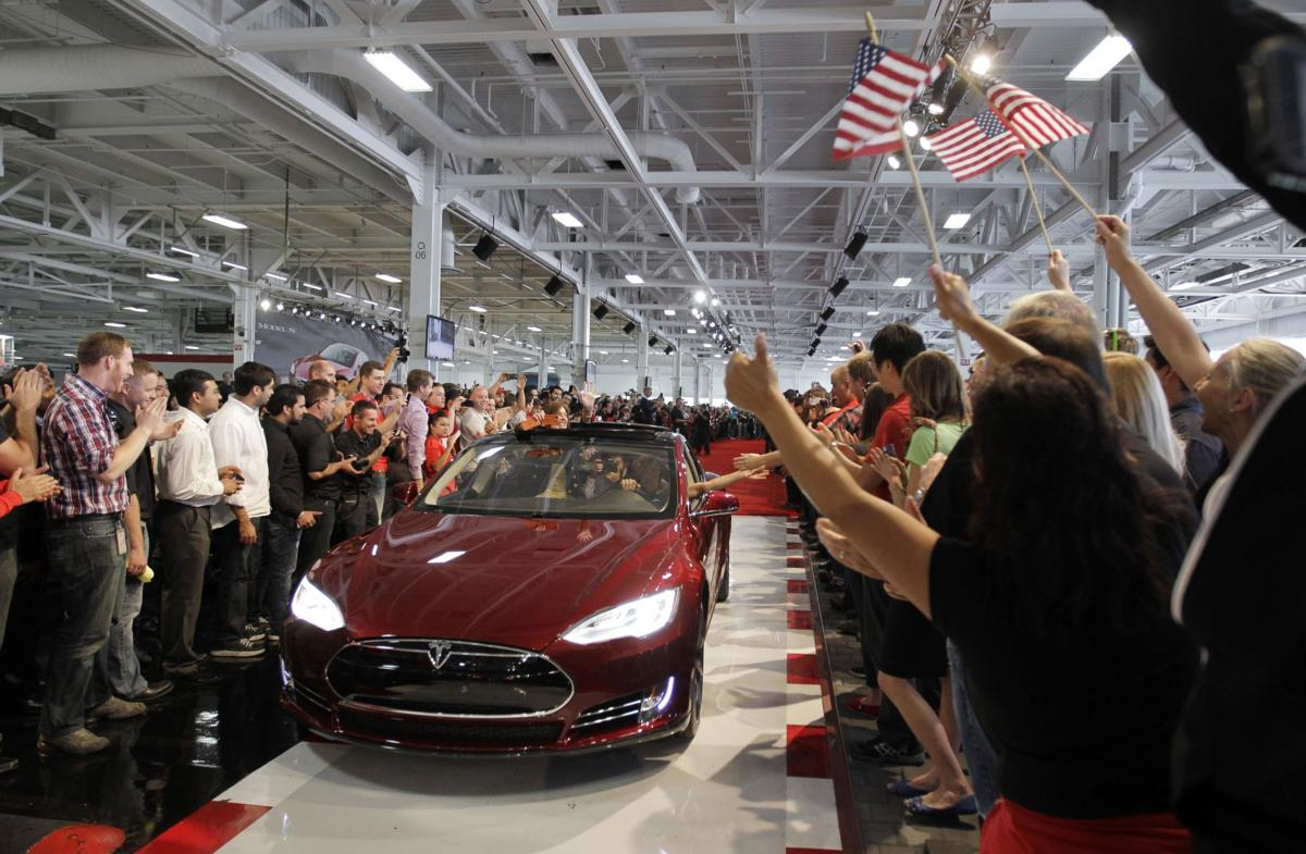 Tesla electric car ties for Consumer Reports' highest score ever