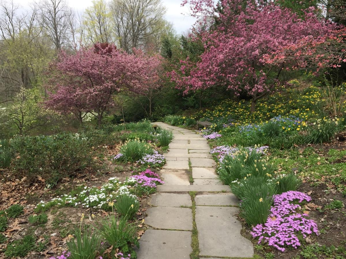 Gardens, 100-acre park at Indianapolis Museum