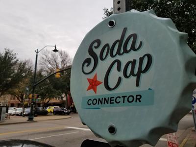 Soda Cap connector sign Dec. 2018