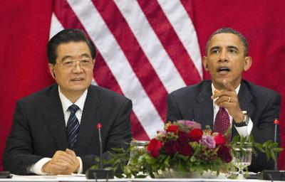 Obama, Hu talk human rights, economic ties