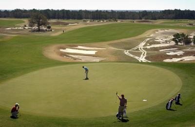 Missouri leads Gamecocks in Hootie golf