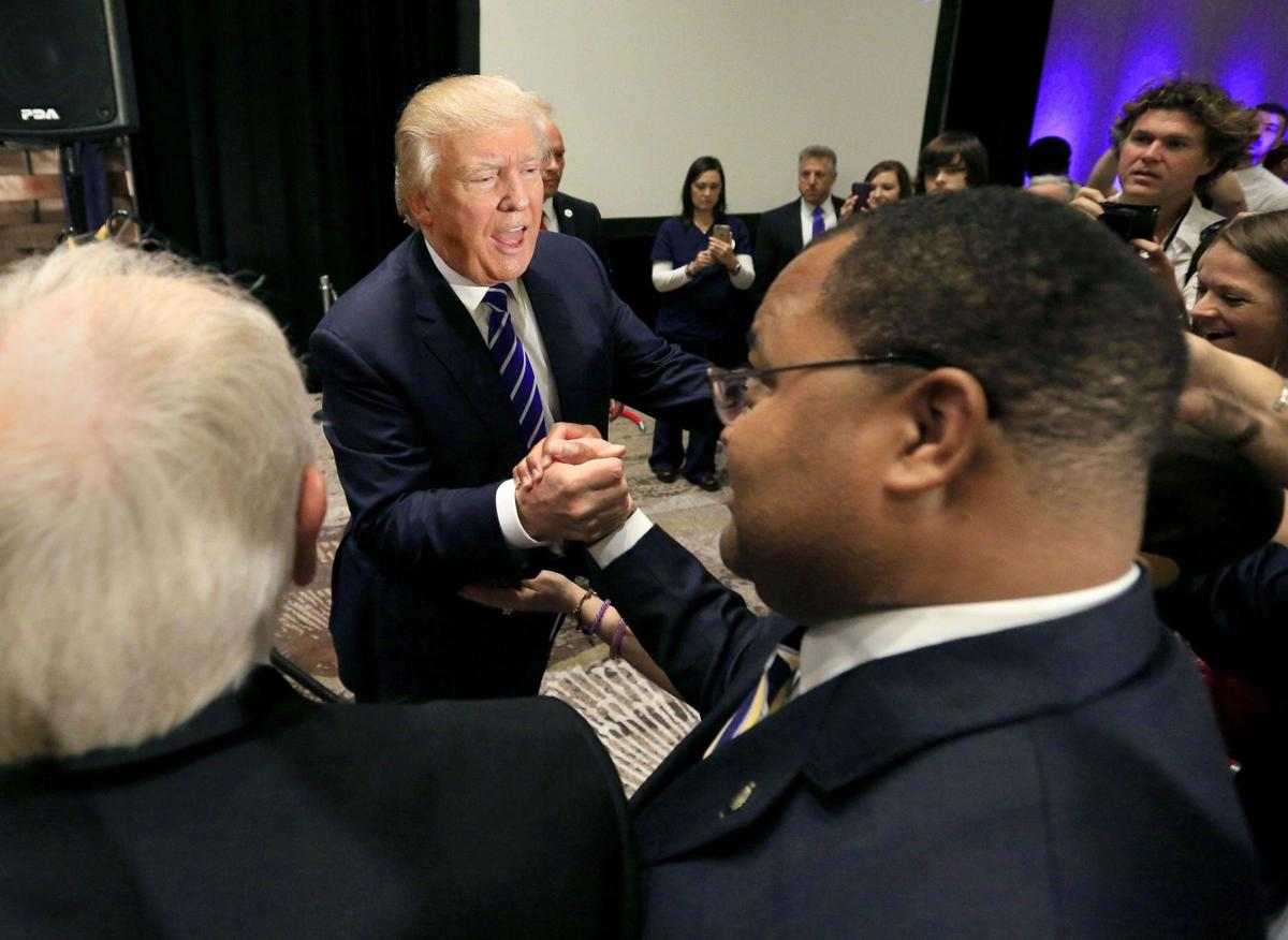 Trump rally lets down entrepreneurs Black business owners expecting advice in N. Chas. hear him bash foes instead Off the air: Trump boycotts Fox News over campaign coverage