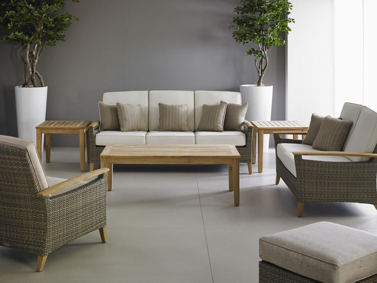 Outdoor furniture an elegant evolution Textiles, materials made for elements