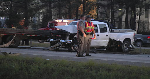 Eight-vehicle pileup on I-26 east leaves motorcyclist in critical condition