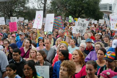 Women's March in Charleston (copy)