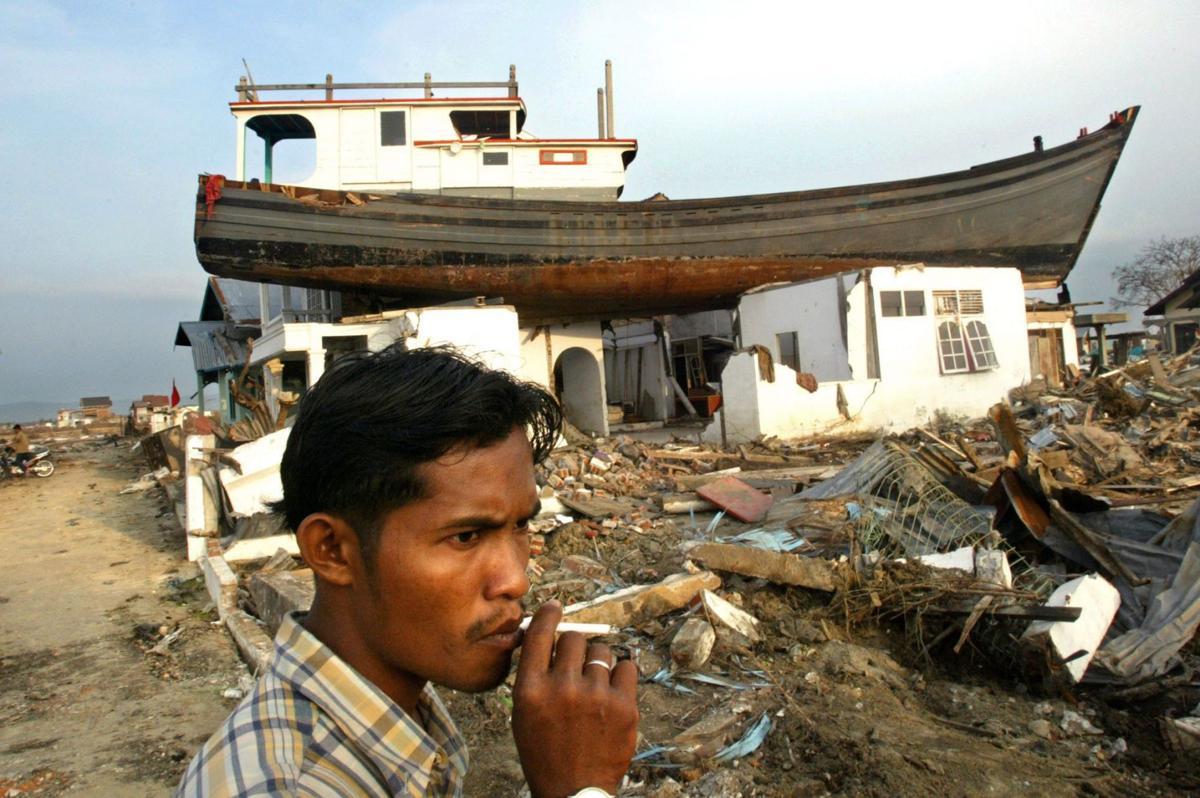Gallery: Looking back at tsunami devastation