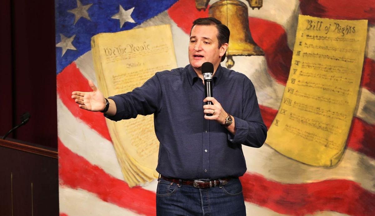 Cruz positions himself as the only candidate who can beat Trump at Myrtle Beach stop