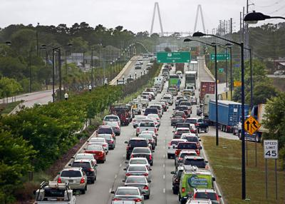 17S toward Ravenel bridge traffic.jpg (copy)