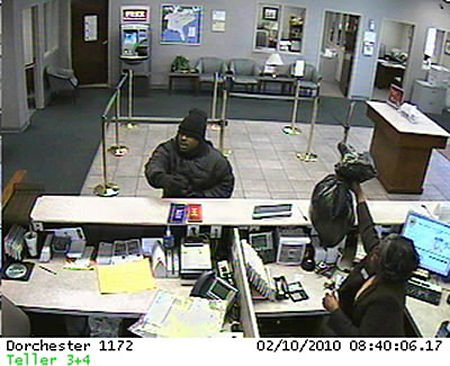 Robber takes cash, teller's car