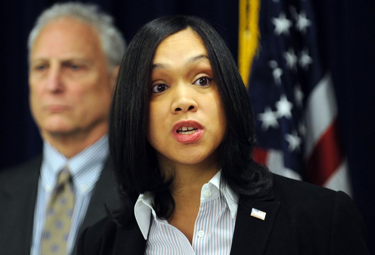 Prosecutor charges 6 Baltimore officers in Gray's death