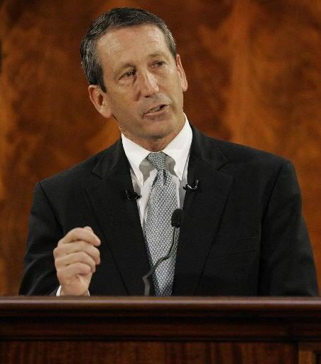 Financial crisis Sanford's focus